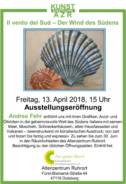 Kunst im AZR April 18